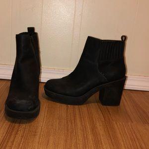 Black ASOS booties